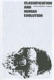 Cover of: Classification and Human Evolution