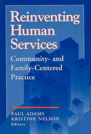Cover of: Reinventing Human Services |