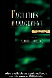 Cover of: Facilities Management