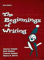 Cover of: The Beginnings of writing