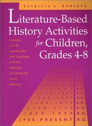 Cover of: Literature-based history activities for children, grades 4-8