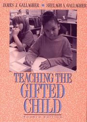 Cover of: Teaching the gifted child