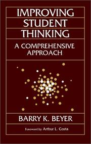 Cover of: Improving student thinking
