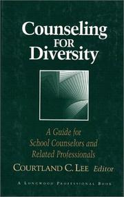 Cover of: Counseling for Diversity | Courtland C. Lee