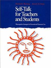 Cover of: Self-talk for teachers and students | Brenda H. Manning