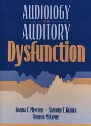 Cover of: Audiology and auditory dysfunction