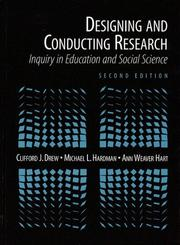 Cover of: Designing and Conducting Research | Clifford J. Drew