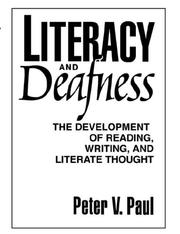 Cover of: Literacy and Deafness