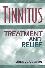 Cover of: Tinnitus