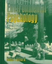 Environmental psychology by Robert Gifford