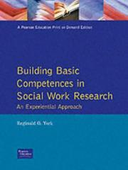 Cover of: Building Basic Competencies in Social Work Research