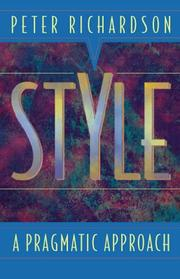 Cover of: Style