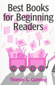 Cover of: Best books for beginning readers
