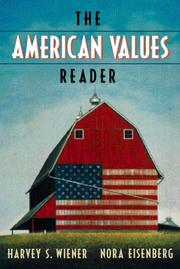 Cover of: American values reader
