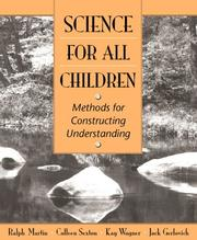 Cover of: Science for All Children | Ralph Martin
