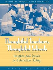Cover of: Thoughtful Teachers, Thoughtful Schools