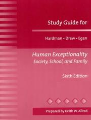 Cover of: Human Exceptionality | Clifford J. Drew