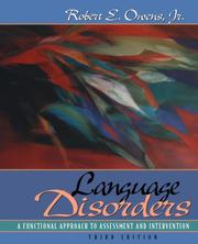 Language disorders by Robert E. Owens