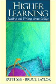 Cover of: Higher Learning | Patti See