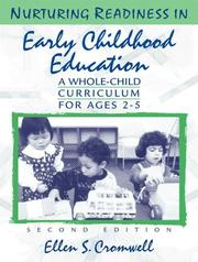 Cover of: Nurturing Readiness in Early Childhood Education
