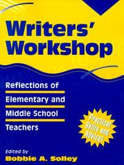 Cover of: Writers' Workshop