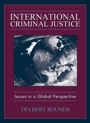 Cover of: International Criminal Justice