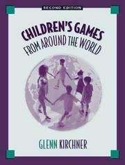 Cover of: Children's games from around the world