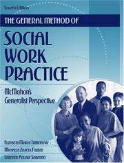 Cover of: The general method of social work practice by Elizabeth M. Timberlake