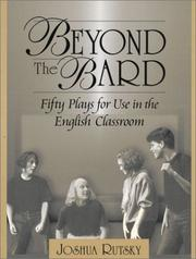 Cover of: Beyond the Bard | Joshua Rutsky