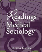 Cover of: Readings in Medical Sociology