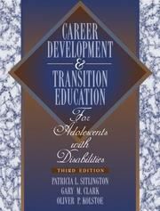 Cover of: Transition education and services for adolescents with disabilities