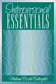 Cover of: Interpersonal Essentials