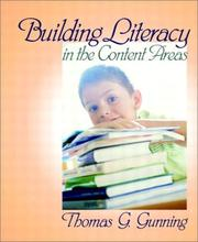 Cover of: Building Literacy in the Content Areas