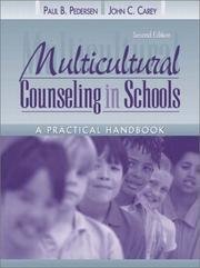 Cover of: Multicultural counseling in schools
