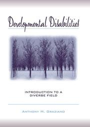 Cover of: Developmental Disabilities: Introduction to a Diverse Field
