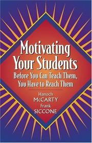 Cover of: Motivating your students | Hanoch McCarty