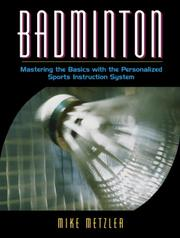 Cover of: Badminton | Michael W. Metzler