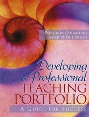 Cover of: Developing a professional teaching portfolio