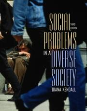 Cover of: Social Problems in a Diverse Society | Diana Kendall