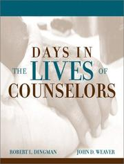 Cover of: Days in the lives of counselors