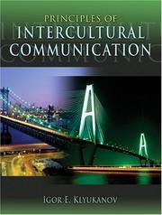 Cover of: Principles of Intercultural Communication