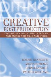 Cover of: Creative Postproduction | Robert Benedetti