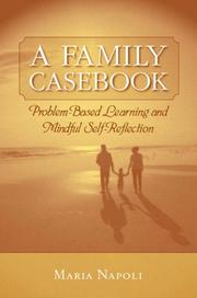 Cover of: A Family Casebook