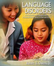 Cover of: Language Disorders | Robert E. Owens