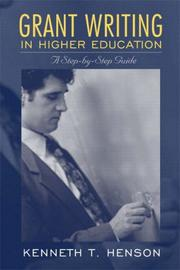 Cover of: Grant Writing in Higher Education