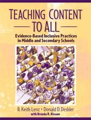 Cover of: Teaching content to all
