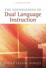 Cover of: Foundations of Dual Language Instruction, The (4th Edition) | Judith Lessow-Hurley