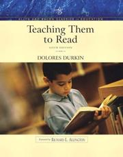 Cover of: Teaching Them to Read (Allyn & Bacon Classics Edition) | Dolores Durkin