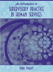 Cover of: An Introduction to Supervisory Practice in Human Services