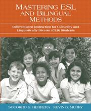Cover of: Mastering ESL and bilingual methods | Socorro Guadalupe Herrera